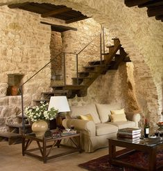 Exceptional french country decor are readily available on our site. Have a look and you wont be sorry you did. Rustic Home Design, Home Interior Design, Interior Architecture, Interior Decorating, Decorating Ideas, French Country House, French Country Decorating, Old Stone Houses, Rustic Interiors