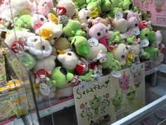 This is a video of a Japanese UFO catcher. UFO catchers are just like crane games.