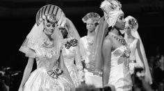 #runway #couture #hifashion #fashionweek #kokoshnik #russiandesigner #wedding #кокошник #высокаямода #свадьба #jenkasfashion #nycfashionweek