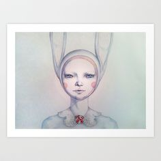 A murder mystery Art Print by Zina Nedelcheva - $21.84