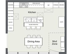 7 Kitchen Layout Ideas That Work 7 Kitchen Layout Ideas That Work Kitchen Layout Ideas - Kitchen floor plan with island and appliance layout<br> Planning a kitchen? These 7 essential kitchen layout ideas will make your new kitchen design a success. Best Kitchen Layout, Kitchen Layout Plans, Kitchen Layouts With Island, Kitchen Island With Sink, Floor Plan Layout, Small Kitchen Floor Plans, Kitchen Sink, Kitchen Layout Design, Kitchen Island Placement