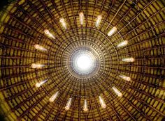 Awesome Bamboo Vault of Eco-Friendly wNw Bar in Binh Duong, Vietnam by Vo Trong Nghia