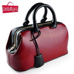 BVLRIGA luxury handbags women bags designer female bag doctor genuine leather bag women leather handbags ladies tote sac a main #Affiliate