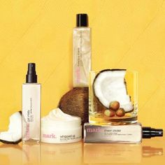 Ahh…Coconut! There's just something about this tropical scent that instantly conjures up thoughts of vacation. Indulge your senses with the new Coconut Body Collection from mark. It's a refreshing mix of coconut water and mandarin mingling with luscious hazelnut and coconut cream. Visit http://www.avon.ca and add Brigitte Giunta has your Rep and if you wish to become one please email me at b_giunta@hotmail.com