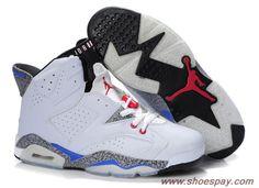 big sale 81722 4380c 2012 Air Jordan 6(VI) White Black Red Stria - 2013 Shoes Pay Online