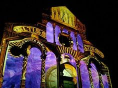 video mapping di Christine Jung, a Massa Marittima sul duomo di San Cerbone...