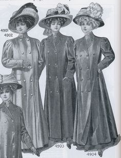 """Duster coat or any other """"motoring"""" garment -- A full-length, loose fitting coat worn in the 1900s to protect clothing when traveling in an open car."""
