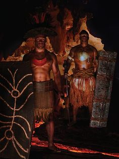 Papua New Guinea Warriors - National Rugby League stars from the Pacific Islands in their island's traditional warrior dress. Photo: Frank Puletua/Ethan Mann