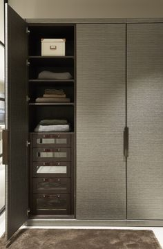 Although renowned for inspiring hand made kitchens, Mowlem & Co also apply their experience, vision and expertise to creating bespoke furniture Wardrobe Door Designs, Wardrobe Design Bedroom, Wardrobe Closet, Wardrobe Doors, Closet Designs, Closet Bedroom, Wardrobe Interior Design, Wardrobe Storage, Bespoke Furniture