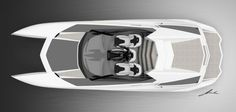 Reinvention V12 powerboat, luxury boat, PROVOCOyachts design studio