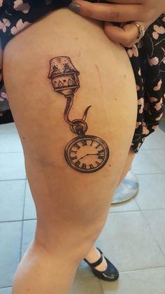 Peter pan captain hook tattoo