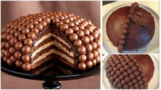 If you love Maltesers, why not make this delicious Maltesers chocolate cake? It would be perfect for a special occasion, a party or when you're feeling. The post The Perfect DIY Amazing Maltesers Chocolate cake appeared first on The Perfect DIY. Maltesers Chocolate, Chocolate Malt, Chocolate Treats, Chocolate Lovers, Chocolate Cakes, Chocolate Heaven, Chocolate Recipes, Sublime Chocolate, Marble Chocolate