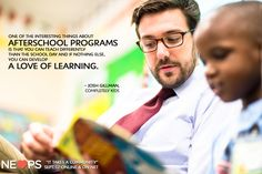 The importance of afterschool programs and community involvement in schools – http://nelovesps.org/story/it-takes-a-community/