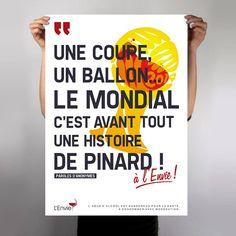 """Wine poster """"L'envie / Coupe du monde"""" by L_st - 2014"""
