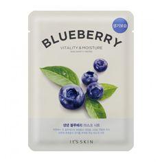 It's Skin The Fresh Mask Sheet Blueberry - maseczka do twarzy