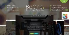 cool BizOne - One Web page Parallax Joomla Template (Company) Check more at http://www.azallcolors.com/bizone-one-page-parallax-joomla-template-corporate/