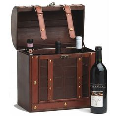 Chateau: Antique 6 Bottle Wine Box from Wine Branch