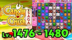 Candy Crush Saga - Level 1476 - 1480 (1080p/60fps)