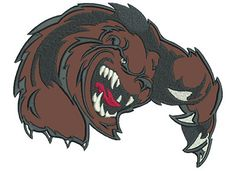 """Clawing Bear 7"""" 