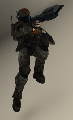 Feli [Halo 3 ODST] by TheMachinifilms