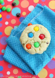 Chewy M& M  Sugar Cookies