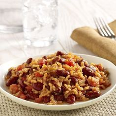 Vegetarian Red Beans and Rice http://www.hunts.com/recipes-Vegetarian-Red-Beans-and-Rice-6931