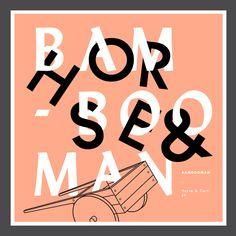 Bambooman Album Artwork by Regji Studios, via Behance
