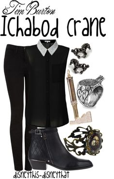 """""""Ichabod Crane"""" by disneythis-disneythat ❤ liked on Polyvore"""