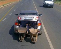 Only in Africa...