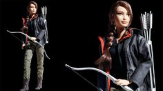 Mattel has recently announced Barbie dolls based on the character of Jennifer Lawrence in the Hunger Games movie. The iconic female protagonist, Katniss Everdeen Barbie dolls is designed by Bill Greening, one of the principal designers in Mattel. #THG #HungerGames