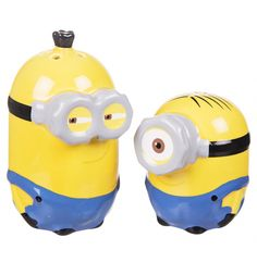 These handy chaps will definitely add a cheery touch to any dinning table! Let Bob provide the salt and Kevin, the pepper with this fun set of #Minions shakers! xoxo #Minion