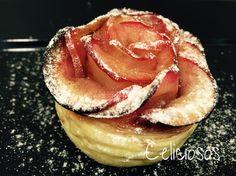 Los celiacos sabemos lo que cuesta encontrar unos pasteles ricos Sin Gluten. Vamos a hacerlos nosotros!, este es de hojaldre y manzana, no huele a rosas, huele a canela y limón.
