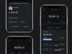 Banking App designed by Monty Hayton for Hyper Lab. Connect with them on Dribbble; the global community for designers and creative professionals. Ios Ui, Mobile Ui Design, Application Design, Ui Inspiration, Peterborough, Data Visualization, Project Management, User Interface, How To Memorize Things