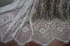 2019 European style bride wedding dress lace nice wedding | Etsy Black Lace Fabric, Beaded Lace Fabric, Tulle Lace, Lace Dress, Bridal Lace, Wedding Lace, Wedding Dresses, Luxury Wedding, Lace Embroidery