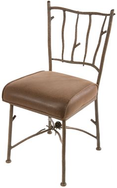 Pine Iron Side Chair