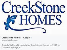 April 24, 2014 CreekStone Homes has 122 followers and 50,832 views on Google+. #new #homes #homebuilders #socialmedia #Colorado #ColoradoSprings #newhomesforsale http://creekstone-homes.com/