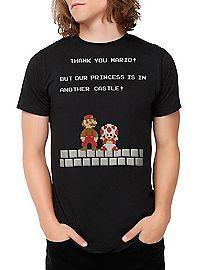 HOTTOPIC.COM - Super Mario Bros. Another Castle T-Shirt