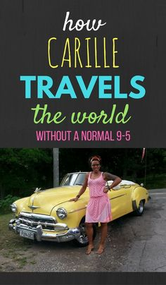 Carille Guthrie is just 3 tickets away from reaching her goal of visiting 49 countries (1/4 of the worlds independent countries)! Here she tells us what inspired her to travel & how she did it without a normal 9-5 income. Click through to read now...