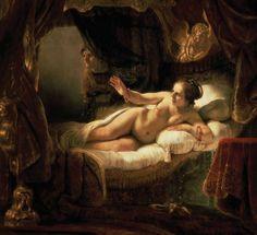 """Danaë"" - Rembrandt"