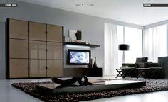 Modern Flat Center Piece Living Room Design
