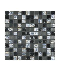 Madrid Anthracite Mix Mosaic Tile