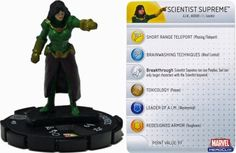 <strong>Scientist</strong> Supreme #033 Captain America Marvel <strong>Heroclix</strong> Single