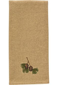 Burlap & Pine Decorative Christmas Dishtowels available @ CountryPorch.com