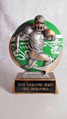 FANTASY FOOTBALL TROPHY AWARD  FOOTBALL TEAM/INDIVIDUAL AWARD - FREE ENGRAVING!! #Unbranded