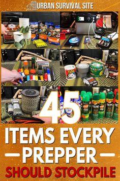 Emergency Preparedness Kit, Emergency Preparation, Survival Prepping, Survival Gear, Survival Skills, Camping Survival, Emergency Supplies, Prepper Supplies, Survival Stuff