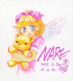 Character design for Angel, of the Maximum Ride manga series.