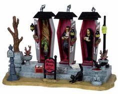 Lemax Spooky Town Vampire Condos