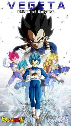 Vegeta, The Prince of Saiyans Dragon Ball Gt, Dragon Ball Image, Otaku Anime, Manga Dragon, Mika, Anime Fantasy, Fan Art, Anime Comics, Anime Characters
