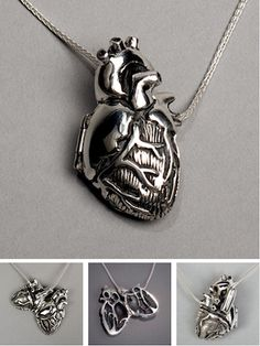 Anatomical heart locket, I will never stop wanting one