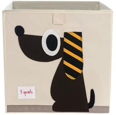 3 Sprouts Animals Storage Boxes